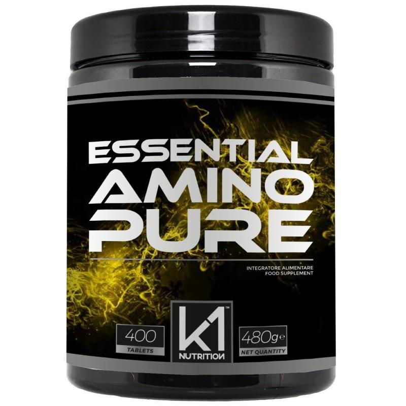 K1 Nutrition Essential Amino Pure 400 tabs in vendita su Nutribay.it