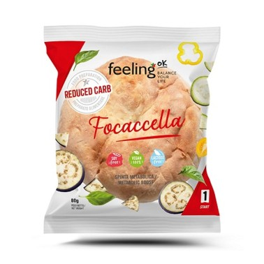 Feeling OK - Start1 - 1 Focaccella da 80 gr in vendita su Nutribay.it