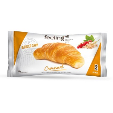 Feeling OK - Optimize 2 - Croissant 50 gr naturale o salato in vendita su Nutribay.it