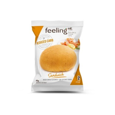 Feeling OK - Optimize 2 - Sandwich 1 x 40 gr in vendita su Nutribay.it