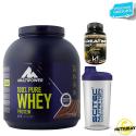 MULTIPOWER 100% Pure Whey Protein 2 kg Proteine + 100% Creatine 100gr K1 e SHAKER in vendita su Nutribay.it