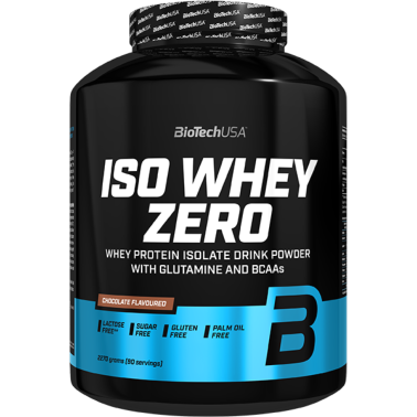 Biotech Iso Whey Zero 2270 gr Proteine Isolate Siero del Latte in vendita su Nutribay.it