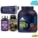 MULTIPOWER 100% Pure Whey 2 KG Proteine Siero Latte + 120 Bcaa e Creatina SCITEC in vendita su Nutribay.it