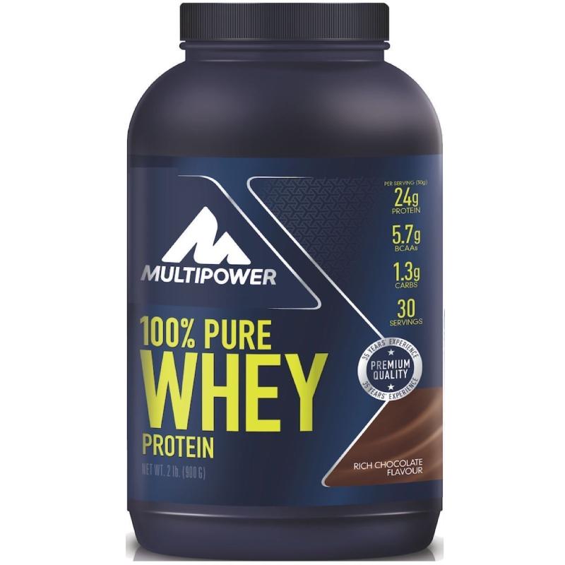 MULTIPOWER 100% Pure Whey Protein 900 Siero del Latte + 110 Bcaa Omaggio SCITEC in vendita su Nutribay.it