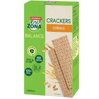 ENERZONA Balance - Crackers 7 minipack da 25 grammi in vendita su Nutribay.it