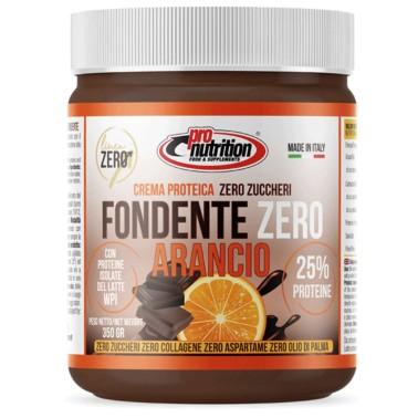 PRONUTRITION FONDENTE ZERO ARANCIO 350 gr CIOCCOLATO  in vendita su Nutribay.it