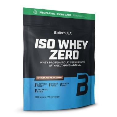 Biotech Iso Whey Zero 1816 gr ( 1,8 kg ) Proteine Isolate del Siero senza Glutine in vendita su Nutribay.it