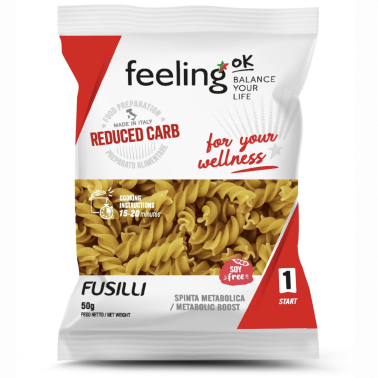 Feeling OK - Start1 - Fusilli 1x50 gr in vendita su Nutribay.it