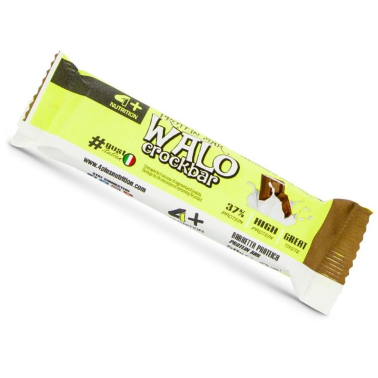 4+ Nutrition Walo Crok Bar Barretta Proteiche senza Grassi Idrogenati in vendita su Nutribay.it