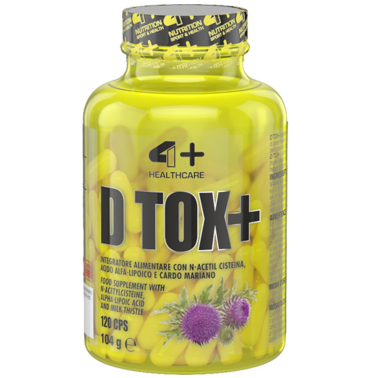 4+ NUTRITION D Tox+ 120 capsule in vendita su Nutribay.it