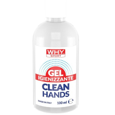 WHY SPORT Gel Igienizzante Mani pulite 100 ml in vendita su Nutribay.it