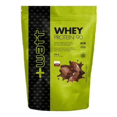 +WATT WHEY PROTEIN 90 750 gr New Doypack in vendita su Nutribay.it