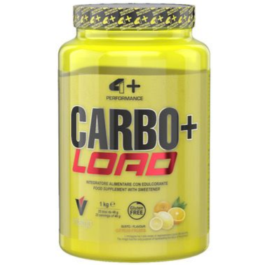 4+ Nutrition Carbo+ Load 1 Kg. Integratore di Vitargo Carboidrati rapidissimi in vendita su Nutribay.it