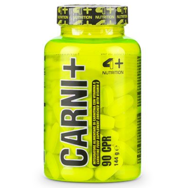 4+ Nutrition Carni+ 90 cpr Integratore di Carnitina con Vitamina Vitamina E in vendita su Nutribay.it