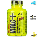 4+ NUTRITION Vita C+ Slow 100 cps. Vitamina C con flavonoidi Lento Rilascio in vendita su Nutribay.it