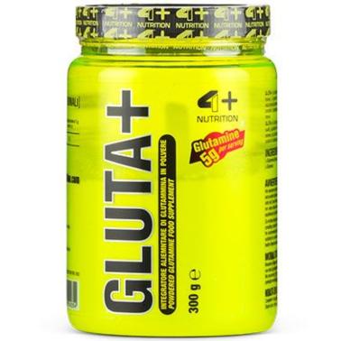 4+ Nutrition Gluta+ 300 gr Glutammina in polvere qualita' Kyowa Ultrapure in vendita su Nutribay.it