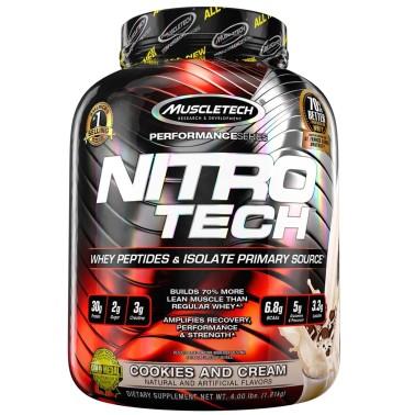 MUSCLETECH Nitro Tech 100% Performance Series 1,8 kg in vendita su Nutribay.it