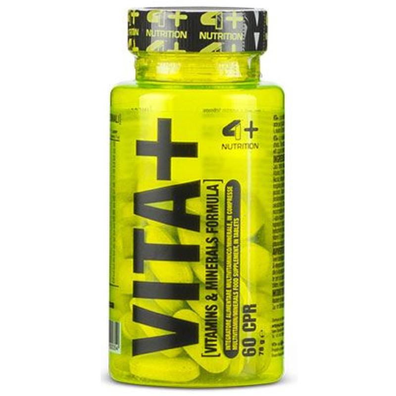 4+ Nutrition Vita+ 60 caps Multivitaminico Minerale Completo in vendita su Nutribay.it