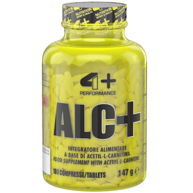 4+ Nutrition ALC+ Acetil Carnitina 100 cpr. da 1 Grammo in vendita su Nutribay.it