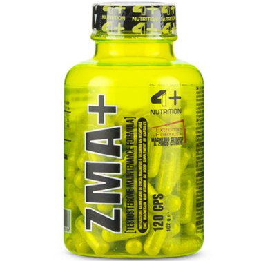 4+ Nutrition Zma+ 120 cps Stimolante Testosterone con Zinco Magnesio e b6 in vendita su Nutribay.it