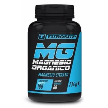Eurosup Magnesio Organico Citrato 180 cpr. in vendita su Nutribay.it
