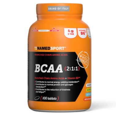 Named Sport BCAA 2:1:1 100 cpr. Aminoacidi Ramificati con Vitamina b6 in vendita su Nutribay.it