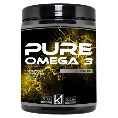 K1 Nutrition PURE OMEGA 3 Fish Oil 500 perle in vendita su Nutribay.it
