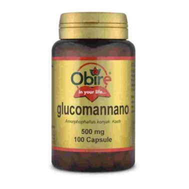 Obire Glucomannano 500 mg 100 caps in vendita su Nutribay.it