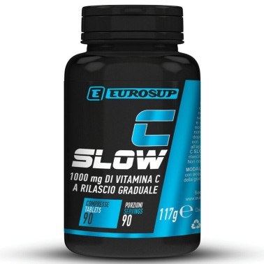 EUROSUP C SLOW 1000 mg 90 cpr in vendita su Nutribay.it