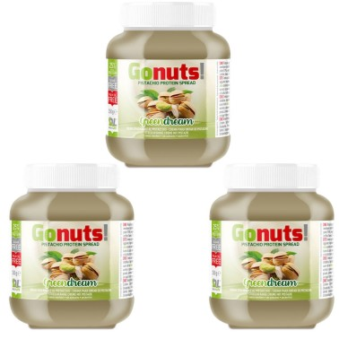 Anderson DL GONuts 3 X 350 gr Pistacchio in vendita su Nutribay.it