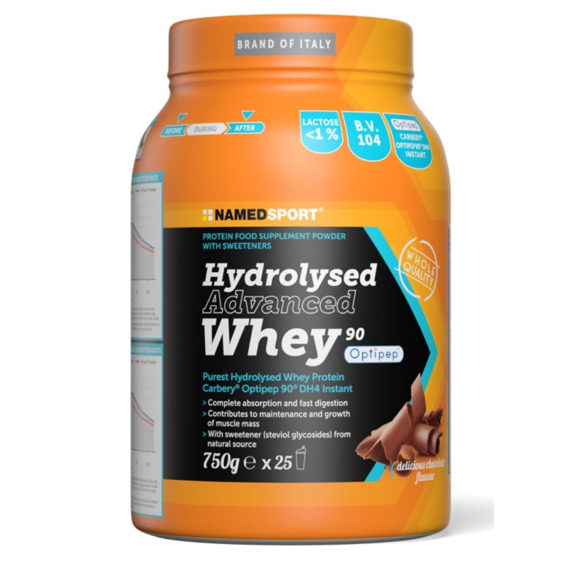 NAMED Sport HYDROLYSED Advanced whey 750 in vendita su Nutribay.it