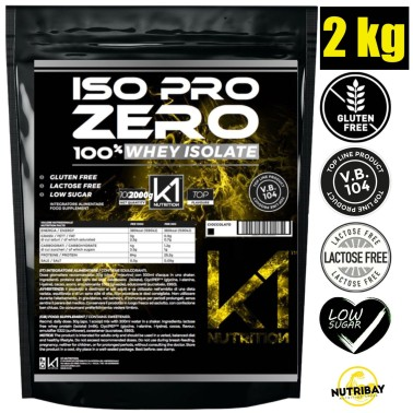 K1 Nutrition ISO PRO ZERO - 2 KG WHEY ISOLATE in vendita su Nutribay.it