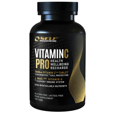 Self Omninutrition Vitamin C Pro 100 cpr in vendita su Nutribay.it