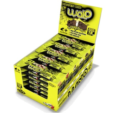 4+ Nutrition Walo Crok Bar box 30 barrette Proteiche da 50 gr in vendita su Nutribay.it