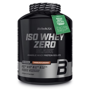 Biotech Iso Whey Zero BLACK 2270 gr in vendita su Nutribay.it