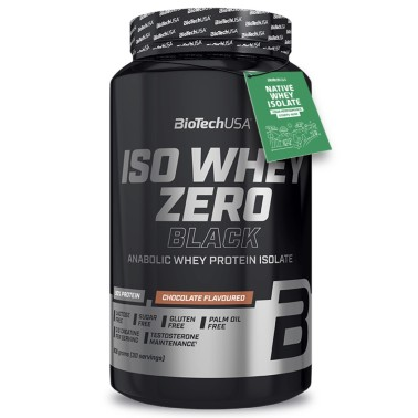 Biotech Iso Whey Zero BLACK 908 gr in vendita su Nutribay.it