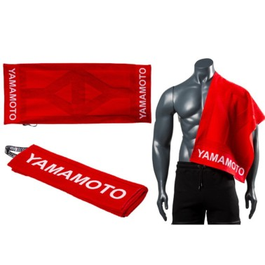 Sports Towel Pro Team di Yamamoto - Asciugamano Palestra in vendita su Nutribay.it