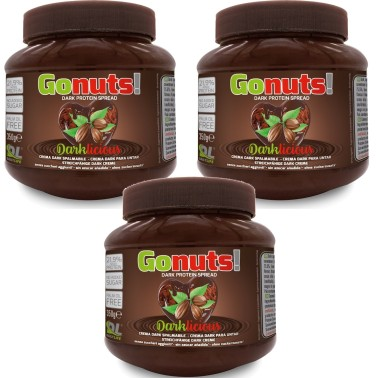 DAILY LIFE Gonuts! Darklicious 3 X 350 GR in vendita su Nutribay.it