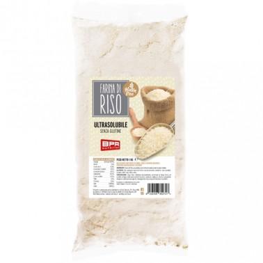 BPR NUTRITION FARINA DI RISO Pregelatinizzata - 1 kg in vendita su Nutribay.it