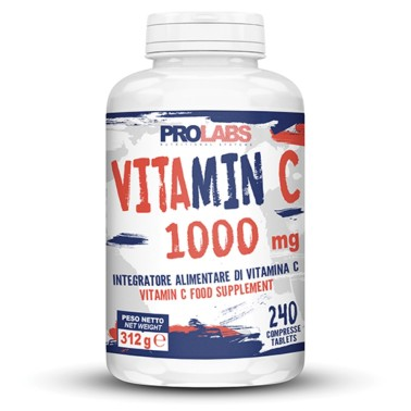 PROLABS Vitamin C 1000 mg 240 cpr da 1 gr in vendita su Nutribay.it