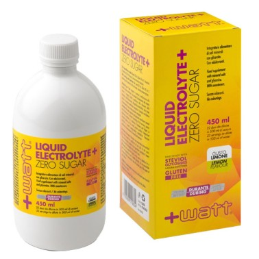 +WATT Liquid Electrolyte+ 450 ml in vendita su Nutribay.it