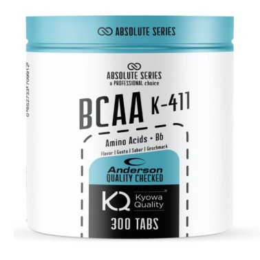 ANDERSON ABSOLUTE SERIES BCAA 4:1:1 KYOWA 300 cpr in vendita su Nutribay.it