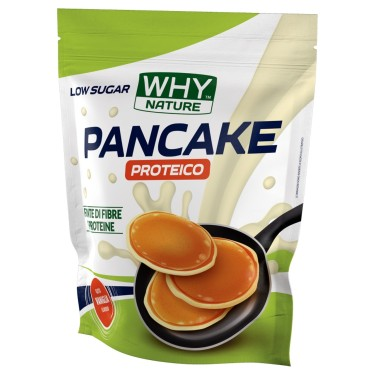 WHY NATURE PANCAKE PROTEICO Low sugar 1 kg in vendita su Nutribay.it