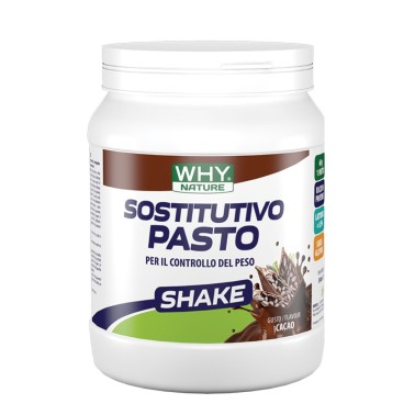 WHY NATURE SOSTITUTIVO PASTO SHAKE 480 gr in vendita su Nutribay.it