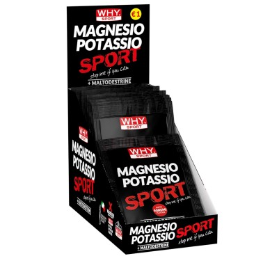 WHY SPORT MAGNESIO POTASSIO SPORT MONODOSE 20 GR in vendita su Nutribay.it