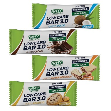 WHY NATURE LOW CARB BAR 3.0 30 gr in vendita su Nutribay.it