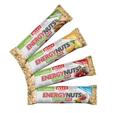 WHY SPORT ENERGY NUTS 35 gr in vendita su Nutribay.it