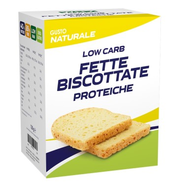 WHY NATURE FETTE BISCOTTATE PROTEICHE LOW CARB 120 gr in vendita su Nutribay.it
