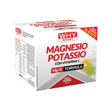 Why Sport Magnesio e Potassio + Vitamina C 30 bustine da 10 gr in vendita su Nutribay.it
