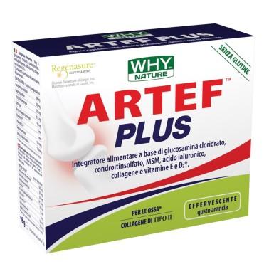 WHY NATURE ARTEF plus 14 BUSTE DA 7 gr in vendita su Nutribay.it